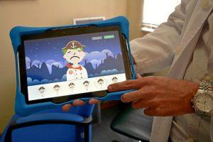 La aplicación también consigue amenizar la estancia en el hospital, haciéndola más agradable.