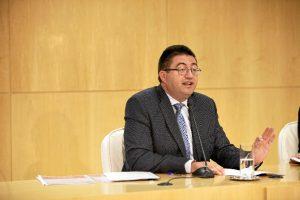 Carlos Sánchez Mato, delegado Área Economía y Hacienda.