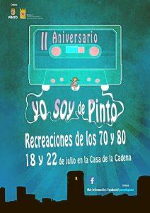 Cartel de la exposición 'Yo soy de Pinto' por su segundo aniversario.
