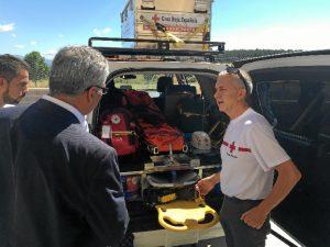 La Comunidad y Cruz Roja Española trabajan conjuntamente  desde 2006.