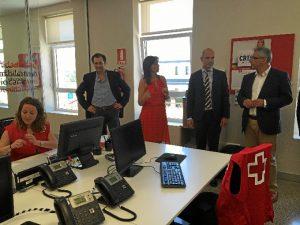 Cruz Roja ha inaugurado una nueva sede en la Sierra Norte.