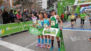 Otra imagen de la carrera.