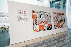 La exposición (gratuita) puede verse hasta el 2 de julio, en la 4ª planta del centro.