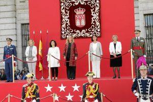 Un momento de la celebración del Día de la Comunidad de Madrid en la Real Casa de Correos.