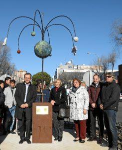 Ciudad Lineal rinde homenaje a su vecino más internacional, el astronauta Pedro Duque