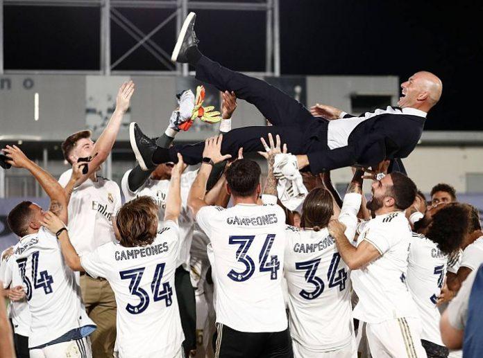 El Real Madrid vence al Villarreal y consigue la Liga 34
