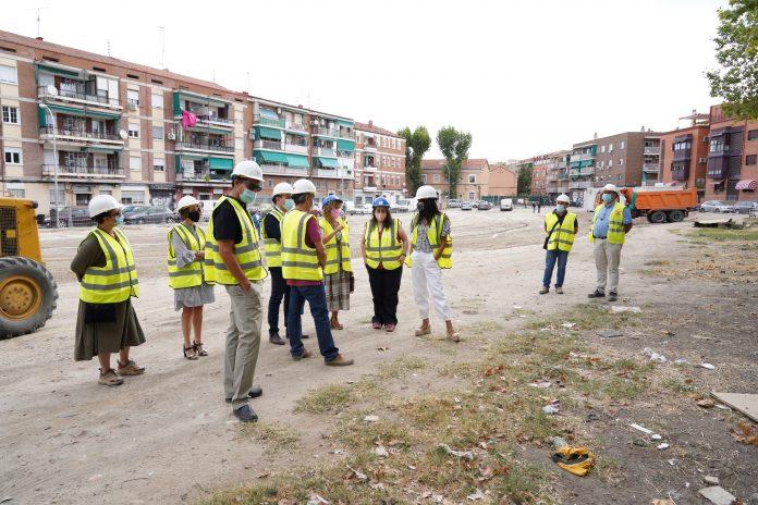 Un solar del distrito de Villaverde se convertirá en una plaza arbolada