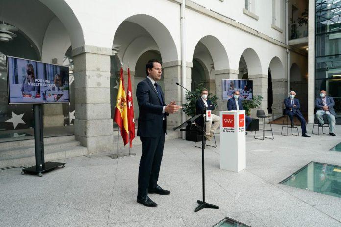 Madrid consensua un protocolo para garantizar la vuelta al trabajo libre de covid-19